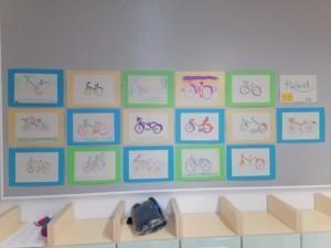 3-luokkalaisten polkupyörät